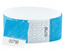 Coupon Tyvek Wristband