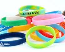 Customised silicone wristband